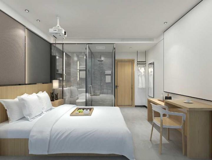 南京隐居酒店装修案例